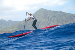 Sonni Hönscheid, sup examiner, stand up paddling