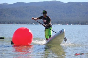 Danny Ching making a buoy turn. Photo, OnIt Pro