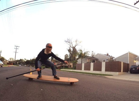 Carving Up Perfection On the Hamboards Classic
