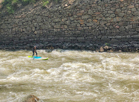 Whitewater paddling: Testing the Red Paddle Co. Wild