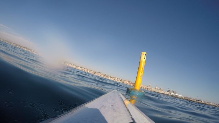 Chart House Buoy, Redondo Beach, PaddleXaminer, sharks