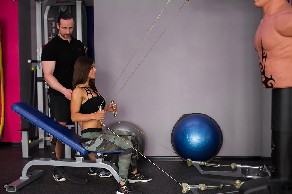 Персональные тренировки с тренером в Москве