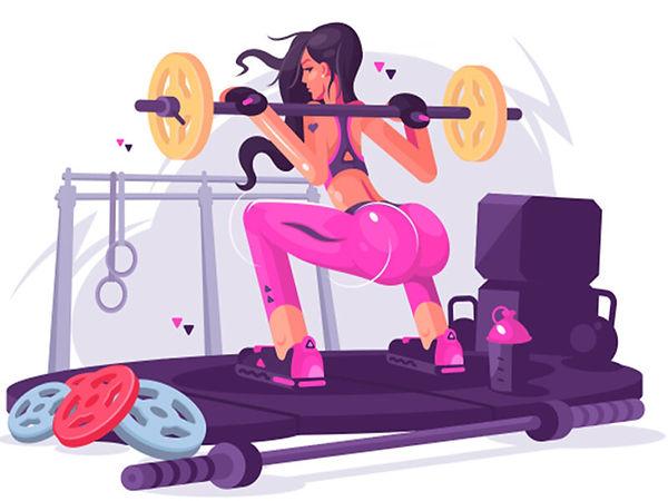 Купить комплекс упражнений для тренировки только со штангой