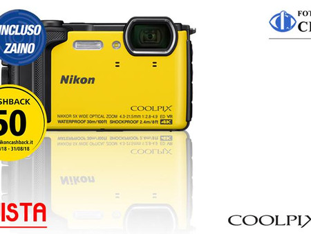 COOLPIX W300, la fotocamera delle tue vacanze