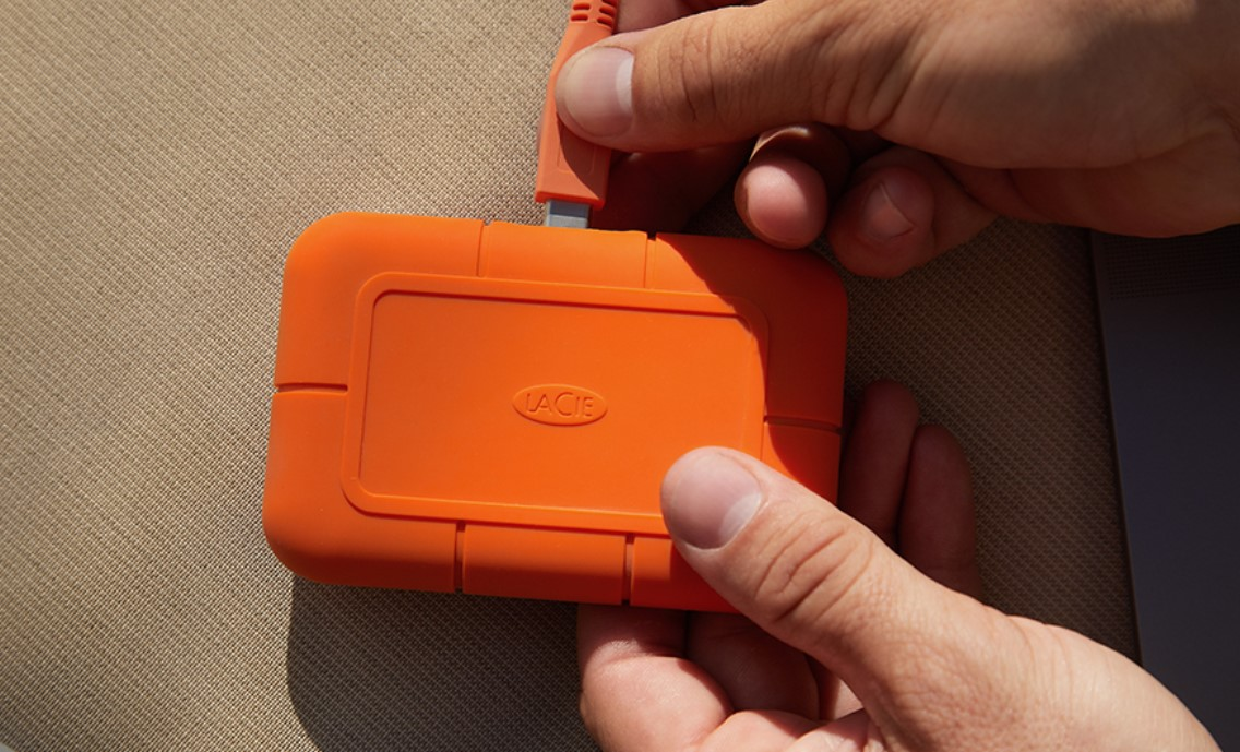 LaCie Rugged SSD e LaCie Rugged SSD Pro
