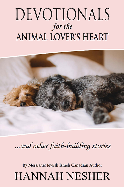 Devotionals for an Animal Lovers Heart - B&W