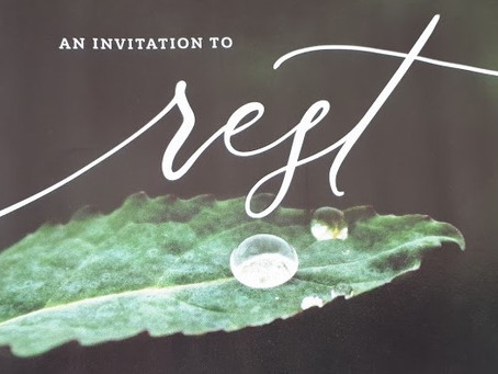 An Invitation to Rest