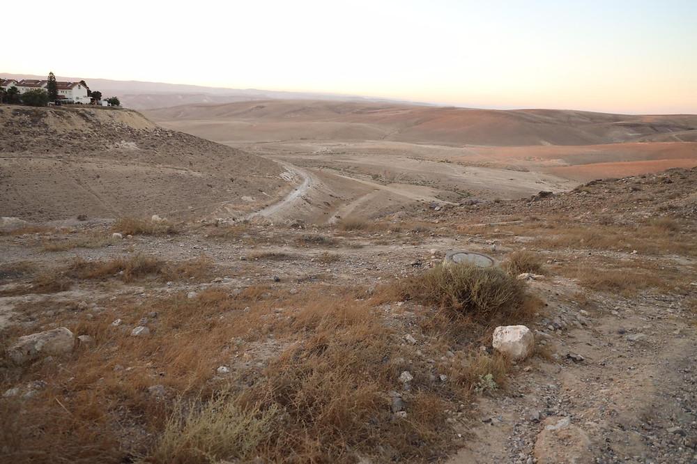 a dry & barren wasteland