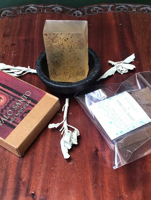 Ogun - Holy Wood/ Sage soap