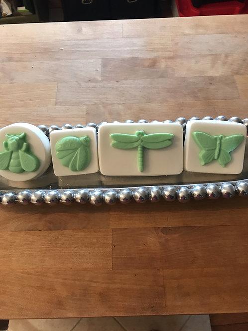 Nature inspired goat milk soaps