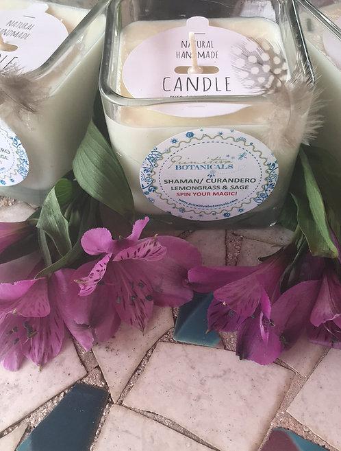 Shaman/curandero candle