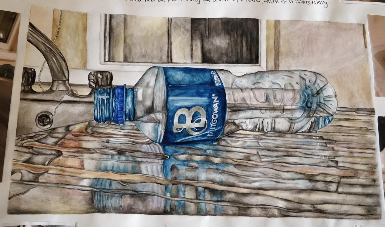 Observation of a Water bottle