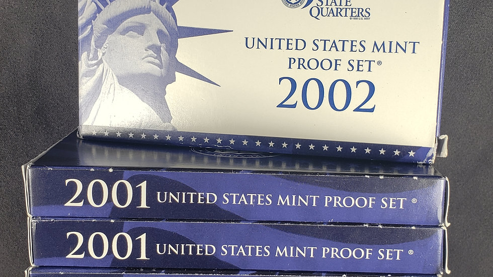 MINT COINS Clad Quarter Proof Sets