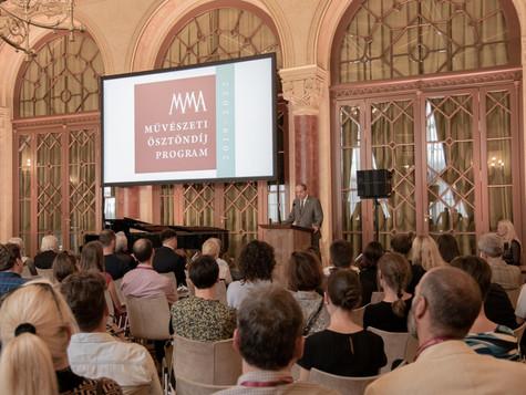Magyar Művészeti Akadémia ösztöndíj, 2019-2020