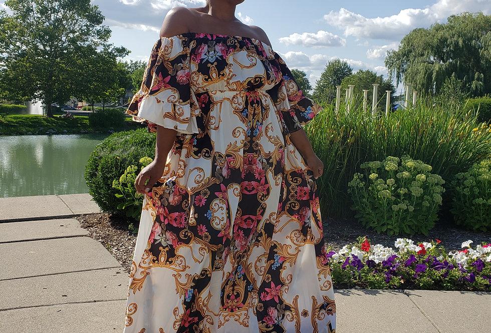 VICTORIAN maxie dress