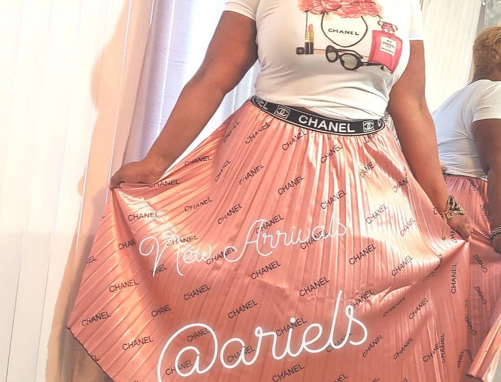 Chanel INSPIRED Skirt
