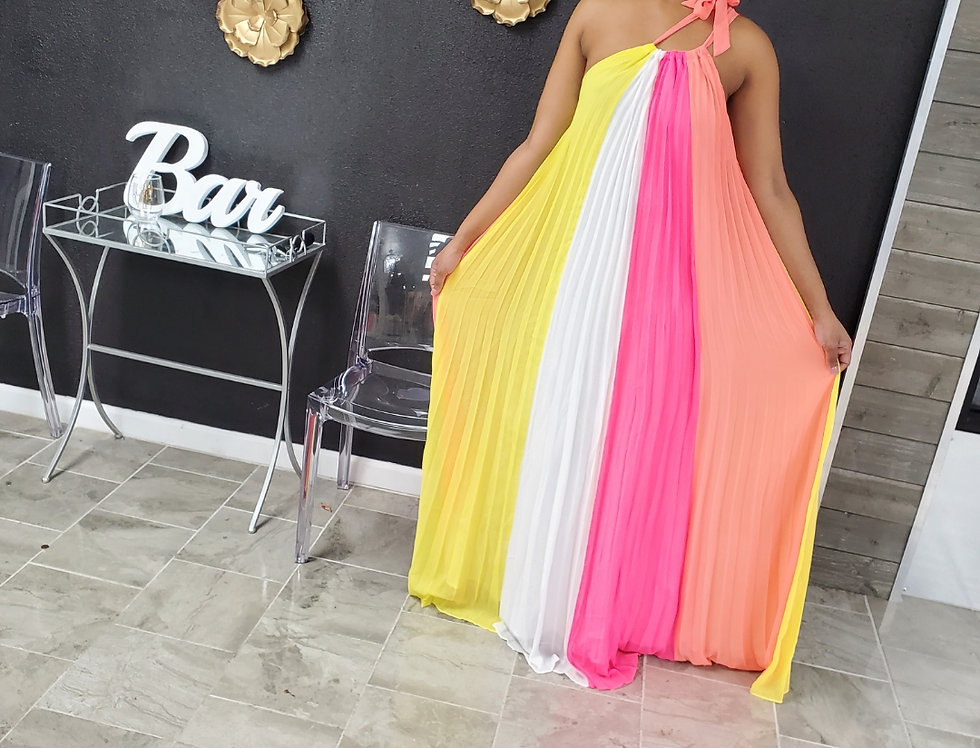 Paradise maxi-dress