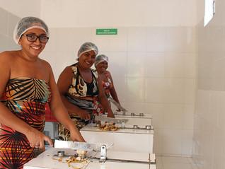 Melhorias na produção da farinha de mesocarpo da Vila Esperança no PI