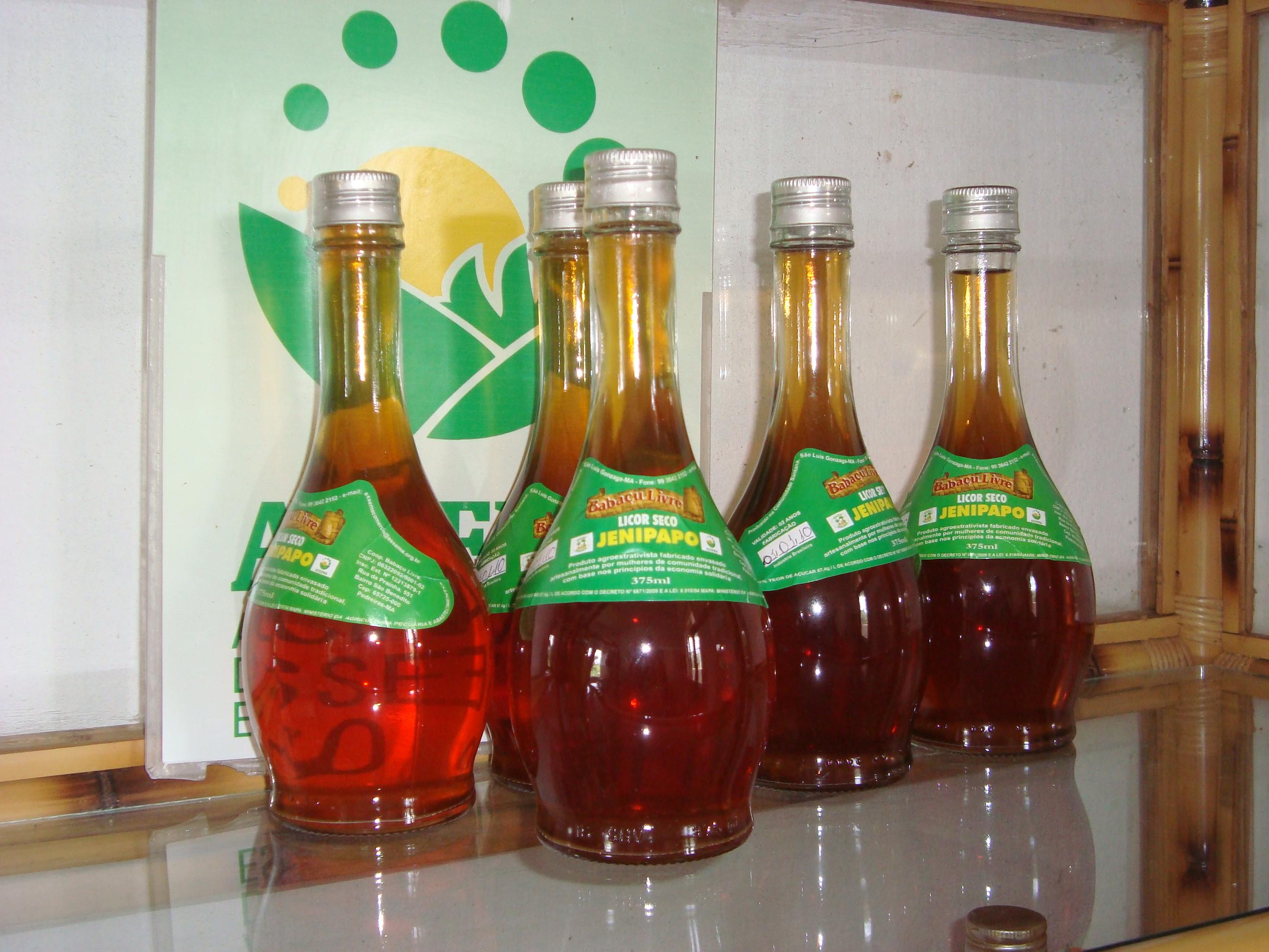 Licor de Frutas Regionais