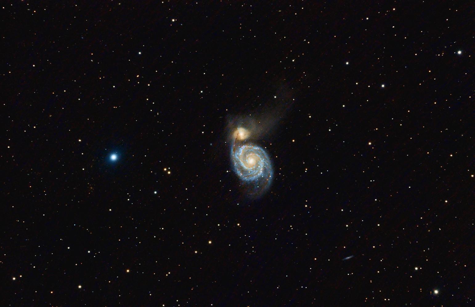 M 51 Whirlpool Galaxy