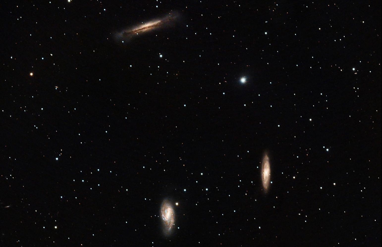 M65, M66, and NGC 3628 - Leo Triplit