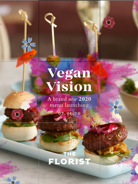 The Florist Vegan Vision Social Squares.