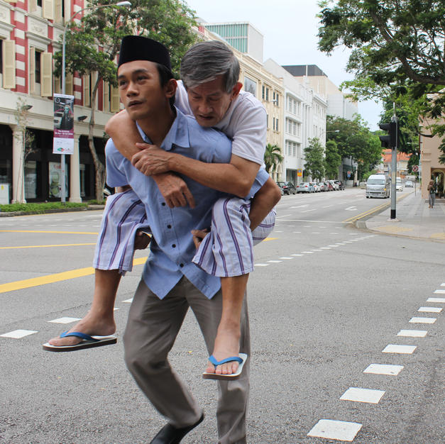 THE MALAY MAN & HIS CHINESE FATHER