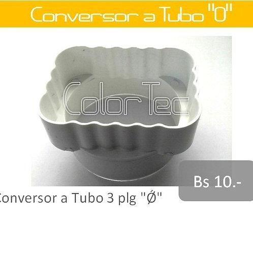 """Conversor a Tubo """"O"""""""