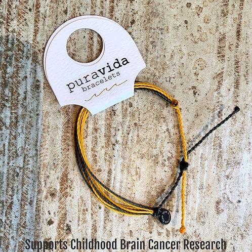 Pura Vida Bracelet to support Childhood Brain Cancer Research