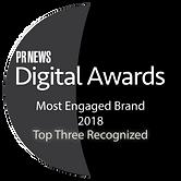 PRNews - Digital Awards - 2018 Engaged B