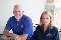 Owners Adam & Katie Womack