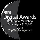 PRNews - Digital Awards - 2018 Best Camp
