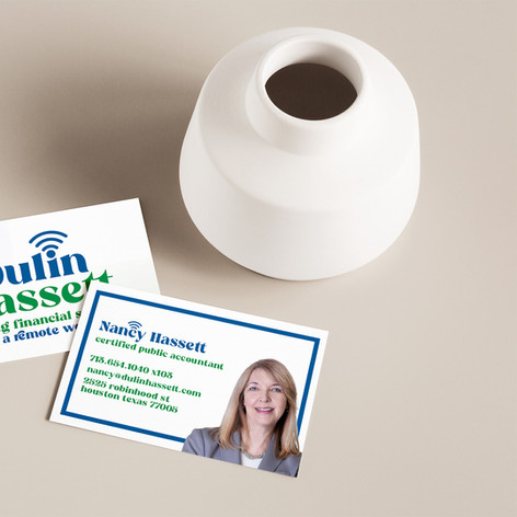 Dulin Hassett - Business Cards - Mockup