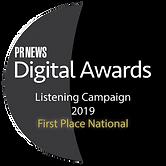 PRNews - Digital Awards - 2019 Listening