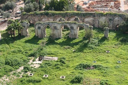 Развалины Белой Мечети в Рамле