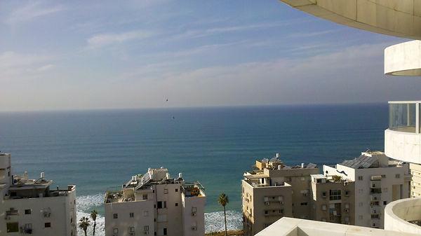 Бат Ям, аппартаменты, вид на море
