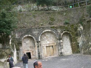 Вход в Некрополь Бейт Шеарим