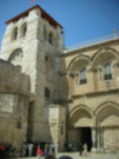 Фасад Храма Гроба Господнего