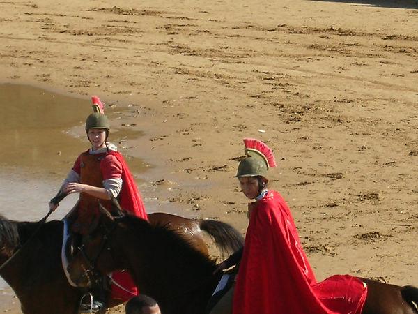 Реконструкция одежды римских всадников