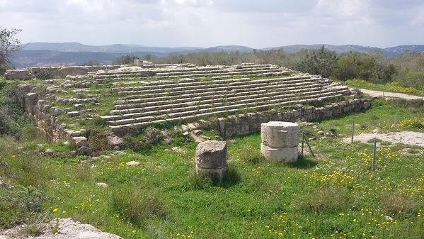 Подиум Храма в Себастии