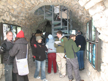Вход в тунели