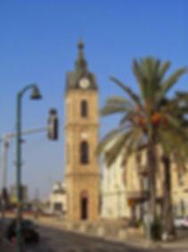 Башня с часами в Яффо