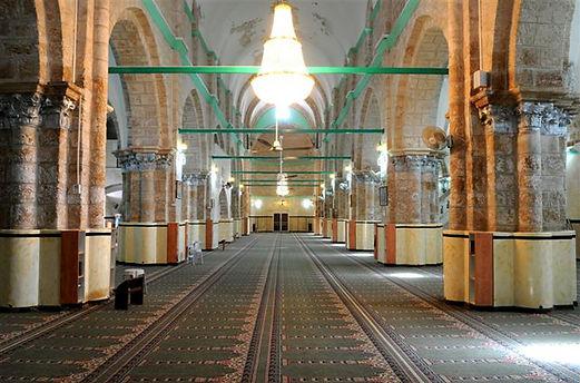 Большая Мечеть Рамле, главный зал