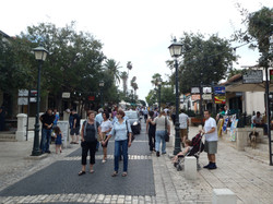 Зихрон Яков, Прогулочная улица
