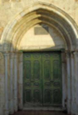 Главные двери в период Крестоносцев