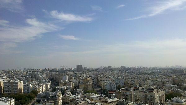 Бат Ям, апартаменты, вид на Тель-Авив