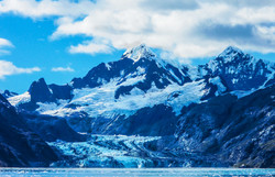 Johns Hopins Glacier and Mt Orville and