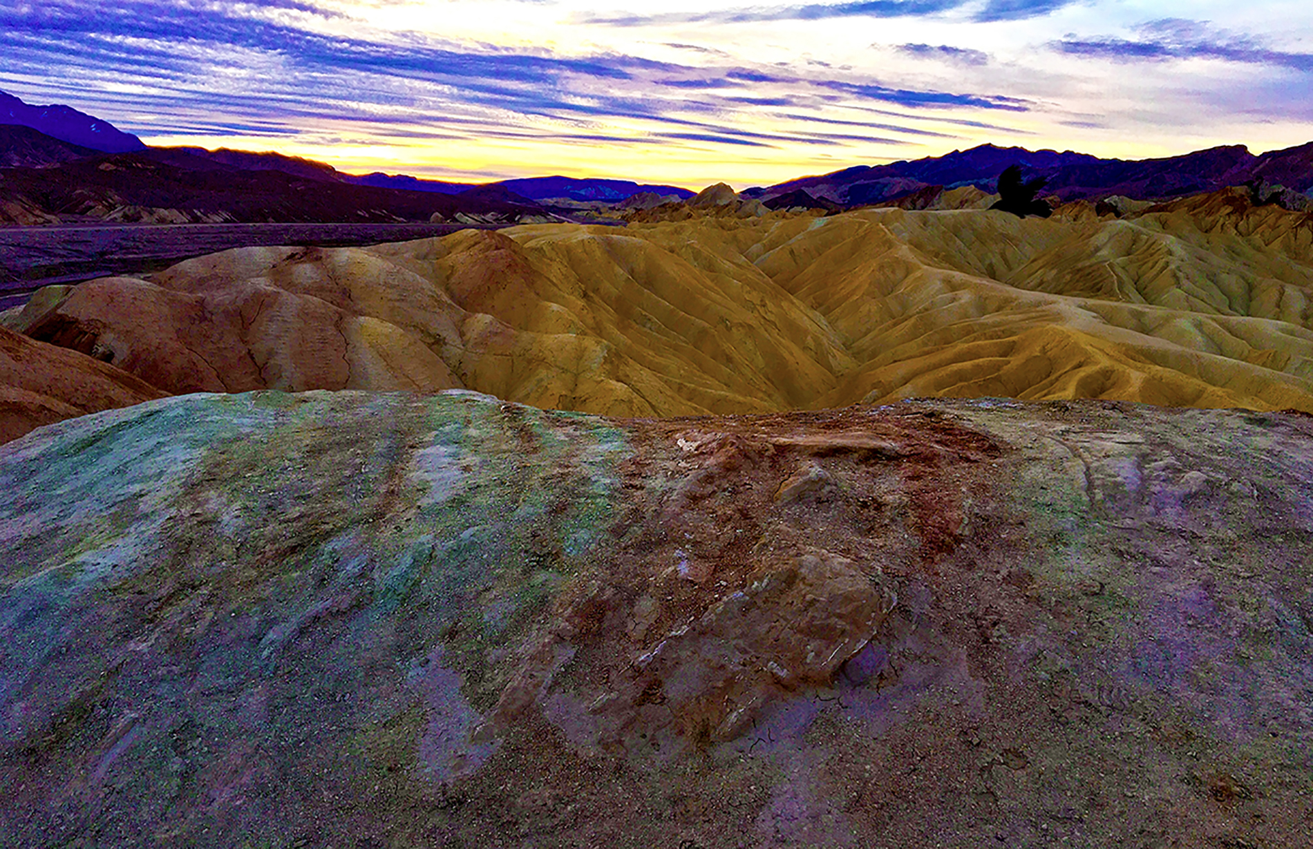 Zabriski Point Winter Sunrise AAG
