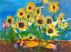 Lyrical Sunflowers