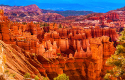 Bryce Canyon Ampitheatre and Sinking Shi